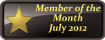 Member of the Month July 2012