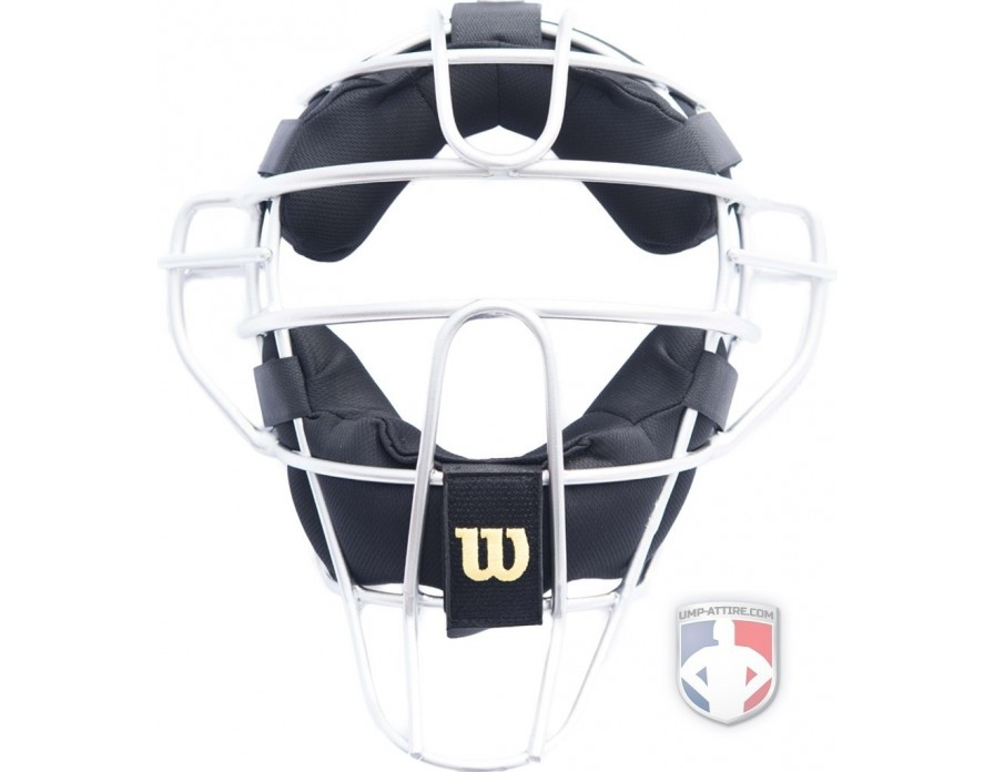 Wilson Silver Dyna-Lite Aluminum Umpire Mask