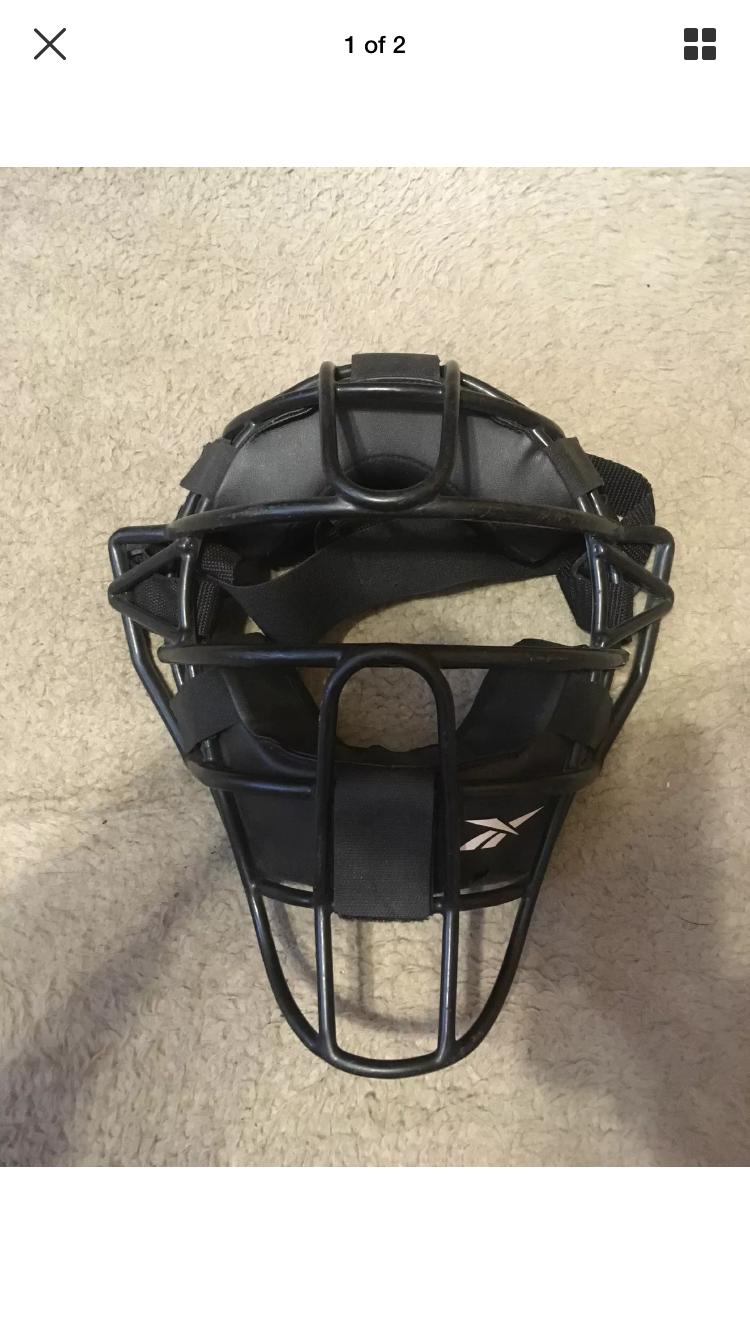 Reebok mask and Carlucci shins - Umpire Equipment - Umpire